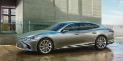 Lexus LS  Еще одна европейская премьера от Lexus — флагманский седан LS, который на старте продаж будет доступен с 3,5-литровым битурбомотором, развивающим 425 л.с. и 600 Нм крутящего момента.
