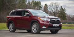 1. Toyota Highlander — 99,93%