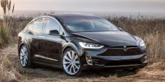 Tesla Model X. Примерно так выглядит электрический кроссоверминистра промышленности и торговли ДенисаМантурова.
