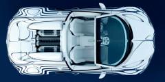 Bugatti Veyron Grand Sport L'Or Blanc— единственный в своем роде, сделан в соавторстве с мастерами фарфорового ремесла.