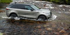 Новый Range Rover Velar способен преодолевать броды глубиной до 650 миллиметров. При условии, что он оснащен пневмоподвеской.