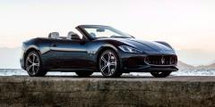 Maserati GranCabrio  Обновленный Maserati GranCabrio отличается от предшественника радиаторной решеткой и воздухозаборниками а-ля концепт Alferi. Понизился у модели и коэффициент лобового сопротивления – с 0,33 до 0,32.