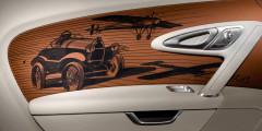 Bugatti Veyron Grand Sport Vitesse Black Bess— единственное исключение из общего правила, потому что названа эта версия не в честь человека, а в честь машины. Прозвище «Черная Бесс» принадлежало одному из первых дорожных суперкаров в истории, Bugatti Type 18. Но первым владельцем этой модели был авиатор Ролан Гаррос— да-да, тот самый. Так что посвящение все-таки в первую очередь ему.