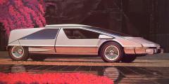 Этот скетч, сделанный Сидом Мидом в 1975 г., называется «Концепт японской машины». И действительно, подданные императора в будущем выпустили немало похожих автомобилей. Даже относительно современная Honda Insight силуэтом кузова отдаленно похожа на него.