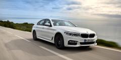 BMW 5-Series  Новая «пятерка» — тоже потенциальная жертва изменений: 249-сильные варианты BMW могут подорожать на 120 тыс. руб., 340-сильные — на 172 тыс. руб., а топовая M550i (462 л.с.) — на 252 тыс. рублей.
