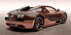 Bugatti Veyron Grand Sport Vitesse Rembrandt Bugatti— посвящение брату Этторе, который был известным скульптором. Его произведения украшают многие престижные коллекции, а знатоки автомобилей знают его по фигурке слона, которая украшала решетку радиатора запредельно роскошной модели Bugatti Type 41 Royale.