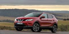 Nissan Qashqai dCi  5,6 л/100 км  Дизельный кроссовер с вариатором даст небольшую фору легковушкам, хотя в таком варианте будет иметь только передний привод. Заявленные 5,6 л на 100км — результат очень достойный, причем мотор объемом 1,6 л развивает приличные 130 лошадиных сил. 100 км/ч дизельный Qashqai разменивает за 11,1 секунды.