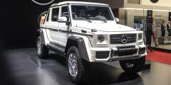 За Mercedes-Maybach G 650 Landaulet проголосовали 9,5% экспертов