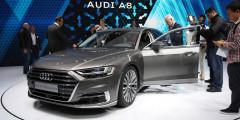 Audi A8  Представленный во Франкфурте флагманский седан Audi A8 открывает новую страницу в истории дизайна марки. Модель не похожа ни на одну из ныне существующих Audi.