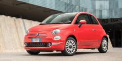 Fiat 500 Продано в феврале: 2 автомобиля  Концерн FCA в феврале не продал ни одного автомобиля марок Chrysler и Alfa Romeo. Единственная легковая модель марки Fiat – хэтчбек 500 – нашла только двух покупателей. Спрос определяет цена: за крохотный автомобиль с мотором 1,4 л (100 л.с.) просят более миллиона рублей.