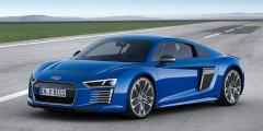 Audi R8 e-tron  Audi R8 e-tron можно приобрести только по предварительному заказу. Запас хода у 462-сильного суперкара внушительный — 450 километров.