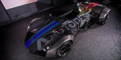 BAC Mono  Автомобиль компании Briggs Automotive Company (BAC) выпущен в единственном экземпляре на базе модели Mono совместно с фирмой Autodesk, которая занимается разработкой программного обеспечения.