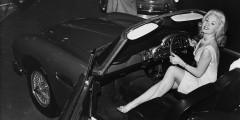 10. Aston Martin DB5, мотор-шоу в Эрлс Корт (Лондон), октябрь 1963 года