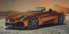 BMW Z4 BMW показала, как будет выглядеть совместный с Toyota спорткар. Концептуальный родстер Concept Z4 продемонстрировали на конкурс элегантности в Пеббл-Бич, а премьера серийной машины с мягким верхом состоится в Женеве в следующем году. Известно, что ради снижения веса в конструкции кузова Z4 использованы углепластиковые элементы. Баварский спорткар получит те же турбомоторы, что и Supra, но гибридной версии у него, скорее всего, не будет.