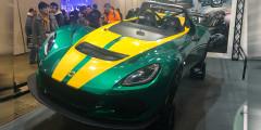 Lotus 3-Eleven  Lotus – один из немногих зарубежных производителей, приехавших в Токио. Здесь британская компания демонстрирует свои спорткары, в том числе, свой самый быстрый трековый родстер 3-Eleven. Он оснащен 3,5-литровым V6 и способен разогнаться до 100 км/ч менее, чем за 3 секунды.