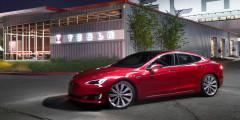 Tesla Model S  Новая модификация Tesla Model S может проехать на одной зарядке 539 километров. Это на 30км больше, чем у предыдущей модели.