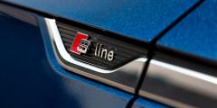 Спортпакет S line предполагает персонолизацию не только интерьера, но и экстерьера