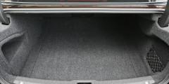 Объем багажника Volvo чуть меньше, чем у «пятерки» – 500 литров