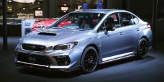 Subaru WRX S4 Sport Concept  Еще один концепт, которому пойдет шильдик STI Sport – это седан WRX S4. Эта экзотическая версия предлагается с 2,0-литровым оппозитником, форсированным почти до 300 лошадиных сил. Автомобиль продается только в Японии и только с вариатором.