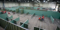Один из временных госпиталей Москвы оборудуют в выставочном центрев парке «Сокольники», он будет рассчитан на 1,2 тыс. пациентов