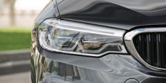 Светодиодные фары новой «пятерки» подсвечивают повороты и не слепят водителей встречныхмашин