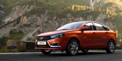 Lada Vesta в мае вышла на третье место в списке самых популярных автомобилей в России, обогнав Hyundai Solaris. Продажи достигли 6 556 машин и в сравнении аналогичным периодом прошлого года выросли на 75%. Это объясняется как слабыми результатами мая 2016 г., так и растущей популярностью нового российского седана.