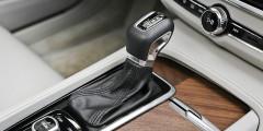 Селектор АКП S90 самый что ни на есть обычный, с фиксируемыми положениями