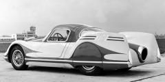 Fiat Turbina  Европейцы уделяли значительно больше внимания аэродинамике, а не стилю. Прототип Fiat Turbina в течение трех десятилетий держал рекорд по самому низкому коэффициенту лобового сопротивления – 0,14. Кроме того, он оснащался настоящей газотурбинной установкой, которая развивала 300 л.с. при 22 000 оборотах в минуту.