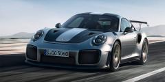 Porsche 911 GT2 RS  Porsche 911 GT2 RS – самый мощный и самый быстрый вариант спорткара 911 в истории. Его 3,8-литровый мотор выдает страшные 700 л.с. и 750 Нм крутящего момента. До 100 км/ч автомобиль разгоняется за 2,8 секунды.