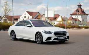 Такими будут автомобили через 5 лет. Обзор Mercedes S-Class W223