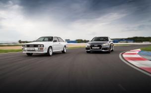 Полноприводные монстры. 40 лет Audi quattro