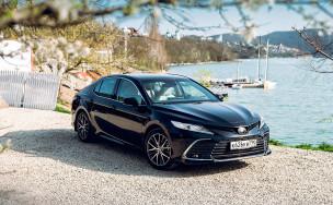 Тест-драйв Toyota Camry 2021: первые впечатления от вариатора