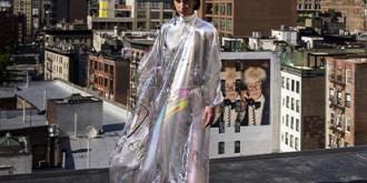 Платье Iridescence от цифрового дома моды The Fabricant