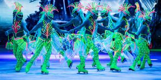Фото: пресс-материалы ледового шоу «Синдбад и принцесса Анна»; Цирка Больших Зверей; Рэддисон Ройал; Cirque du Soleil; elkazazerkalom.com; circus-sokolniki.ru