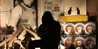 Кадр из фильма «Выход через сувенирную лавку»