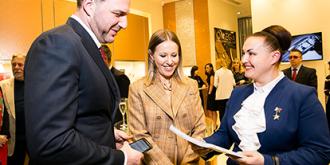 Фото: Александр Мурашкин, Марина Крылова и Юлия Майорова