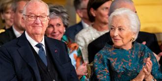 Король Альберт II и королева Паола Руффо ди Калабриа