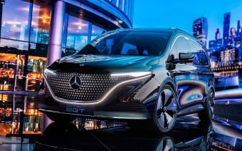 Mercedes-Benz представил электрический компактвэн EQT