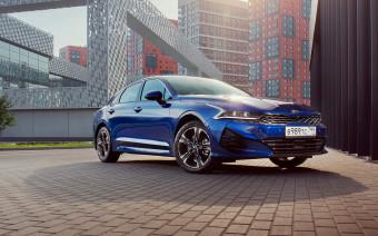 Kia назвала российские цены на новый седан K5