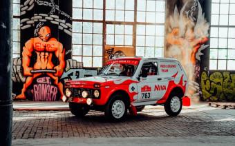 В Швейцарии представили Lada Niva из 80-х для ралли-рейда «Дакар»