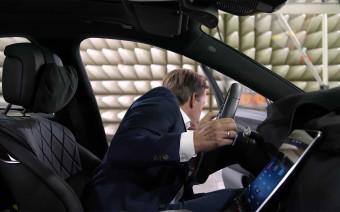 Mercedes показал на видео новый S-Class