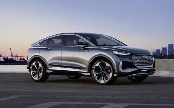 Audi представила новый электрический кроссовер