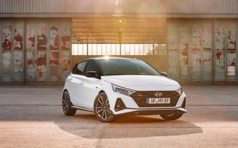 Hyundai представил спортивный хэтчбек i20 N-Line