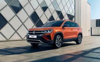 Volkswagen рассказал о доступном кроссовере Taos для России
