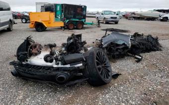 Сгоревший McLaren GT продадут на аукционе