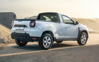 Кроссовер Dacia Duster превратили в полноприводный пикап