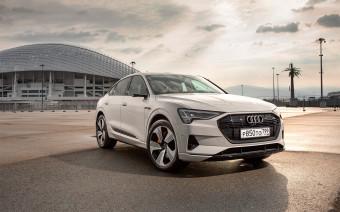 Все до лампочки. Тест-драйв Audi e-tron Sportback