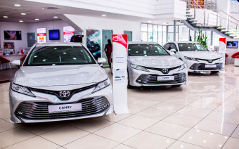 Покупаем Toyota Camry: цены, наличие, стоимость каско