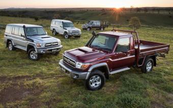 Toyota обновит почти 40-летний внедорожник Land Cruiser 70