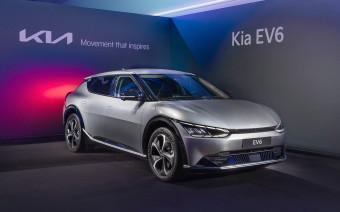 Kia рассказала о новом 325-сильном кроссовере EV6 для России